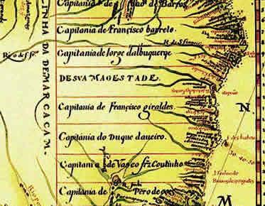 Capitanias - BRASIL ESCOLA