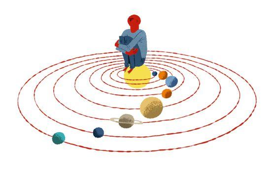centro do sistema solar